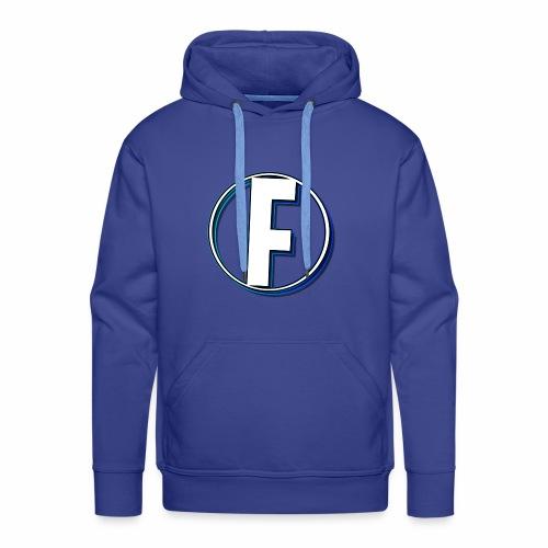 FLANQER - R - BLUE - Mannen Premium hoodie
