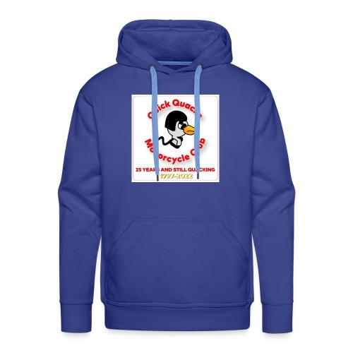 Quack logo 25 years - Men's Premium Hoodie