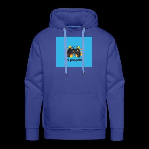 this is my Alfie gaming logo merch - Men's Premium Hoodie