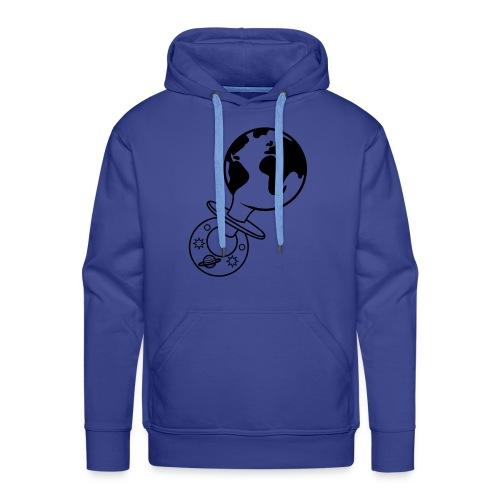 world pacifier - Mannen Premium hoodie