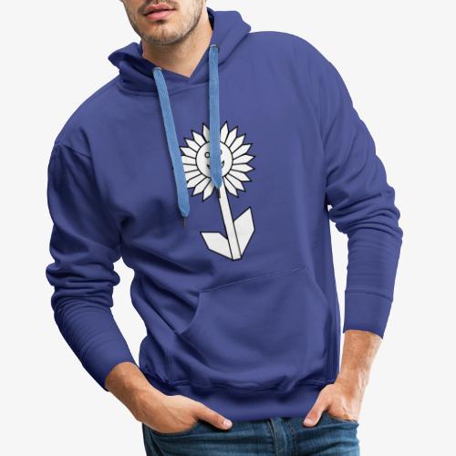 Fröhliche Blume - Männer Premium Hoodie