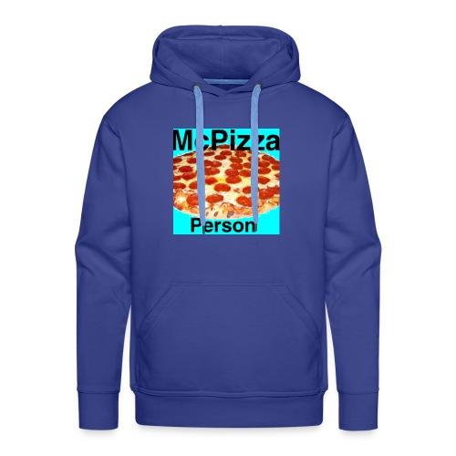 Old McPizzaPerson Logo - Men's Premium Hoodie