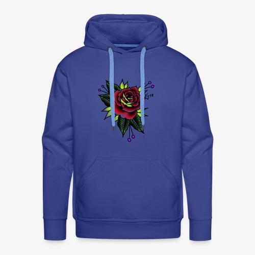 Traditional rose - Men's Premium Hoodie