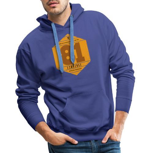 Vignette automobile 1981 - Sweat-shirt à capuche Premium pour hommes