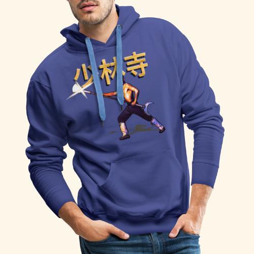 Gordon Liu as San Te - Warrior Monk - Mannen Premium hoodie