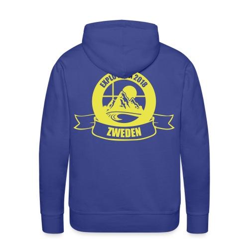 ZOKA Zweden - Mannen Premium hoodie