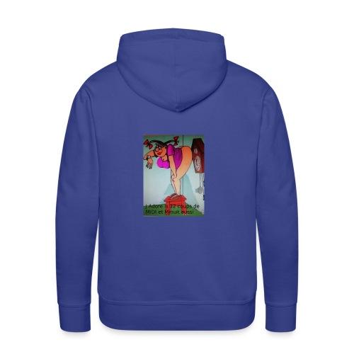 12 cps de midi - Sweat-shirt à capuche Premium pour hommes