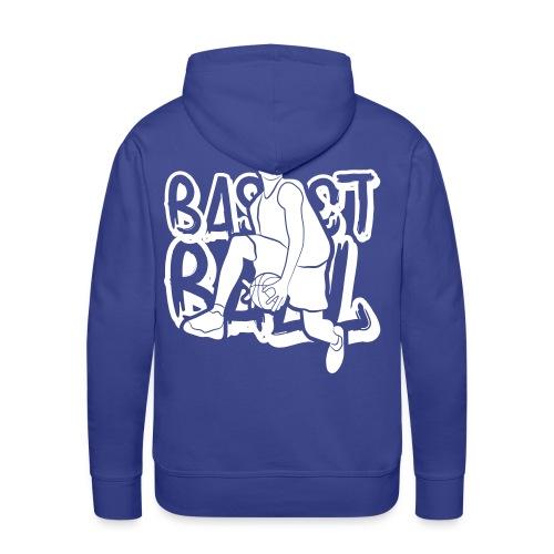 BASKETBALL TAG H - Sweat-shirt à capuche Premium pour hommes