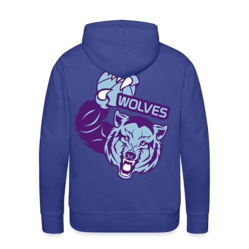 Wolves Basketball - Sweat-shirt à capuche Premium pour hommes