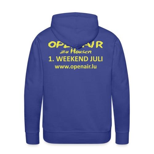 Open Air Hosingen - Männer Premium Hoodie
