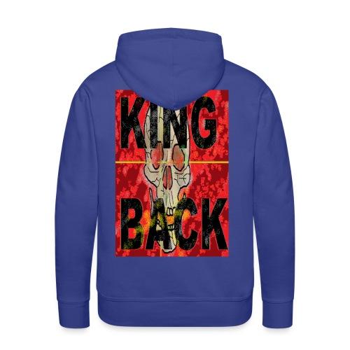 KING BACK - Männer Premium Hoodie