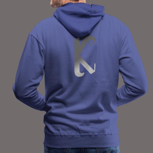 première collection MEERKAT - gris blanc - Sweat-shirt à capuche Premium pour hommes