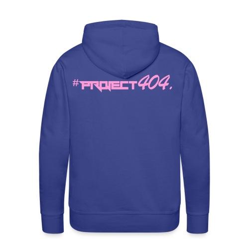 #project404 pink - Men's Premium Hoodie