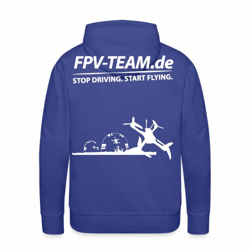 FPV-Team Copter - Männer Premium Hoodie