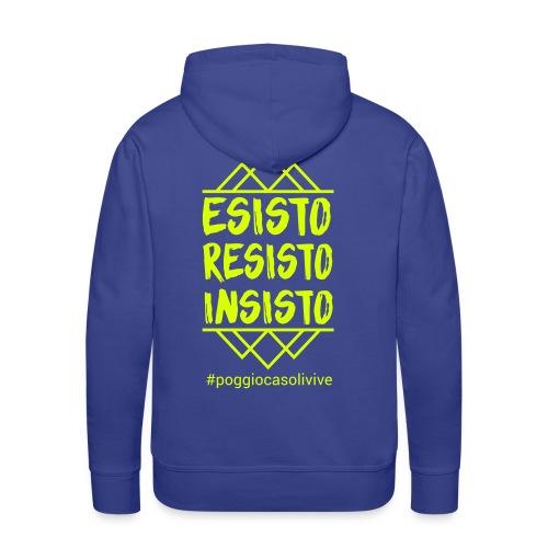 patch resisto - Felpa con cappuccio premium da uomo