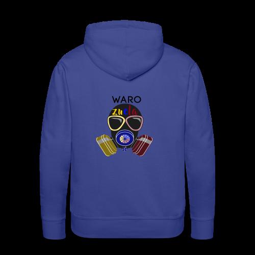 warozuela - Sudadera con capucha premium para hombre
