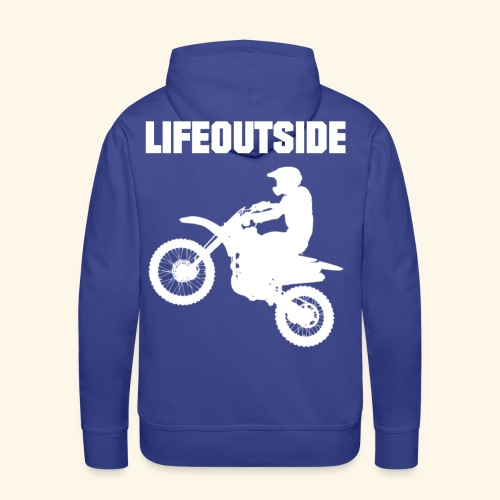 Motocross - Männer Premium Hoodie