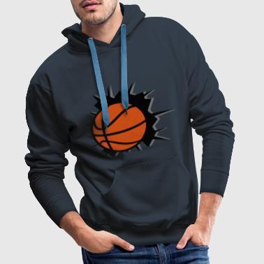baloncesto, basketball - Sudadera con capucha premium para hombre