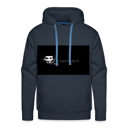 ix anonymous ix - Men's Premium Hoodie