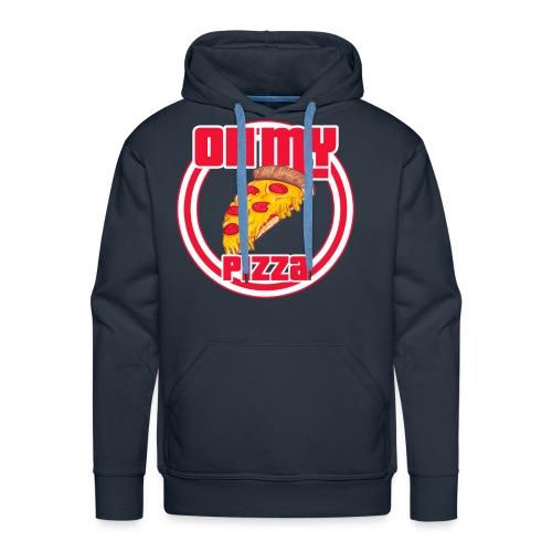 Oh my pizza - Sudadera con capucha premium para hombre