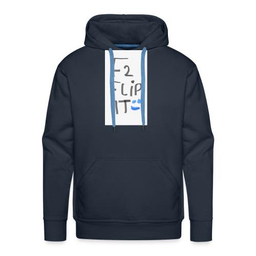 F2 FLIP IT - Men's Premium Hoodie