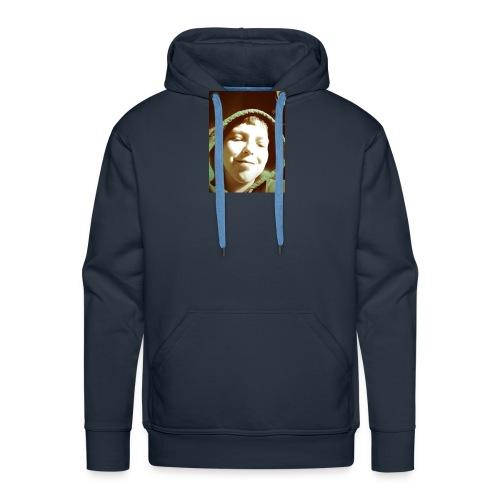mooie cap erg in - Mannen Premium hoodie