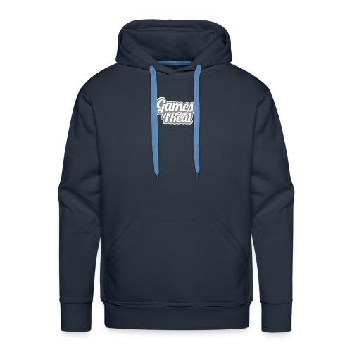 Games4Real - Mannen Premium hoodie