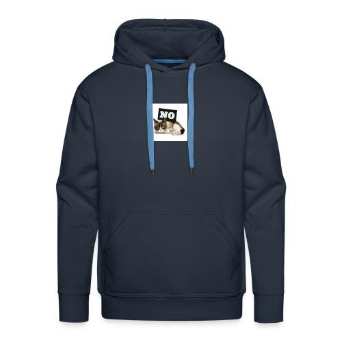 Crumpy Cat - Männer Premium Hoodie