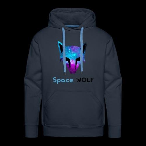 space wolf galaxy - Sudadera con capucha premium para hombre