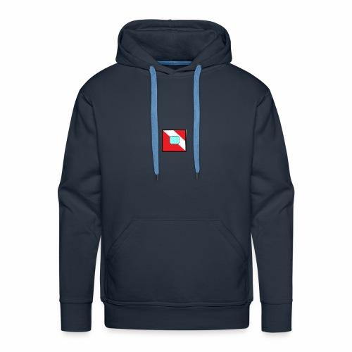 logo test - Sweat-shirt à capuche Premium pour hommes