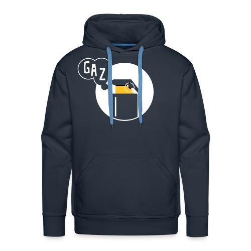 gaz1 - Sweat-shirt à capuche Premium pour hommes