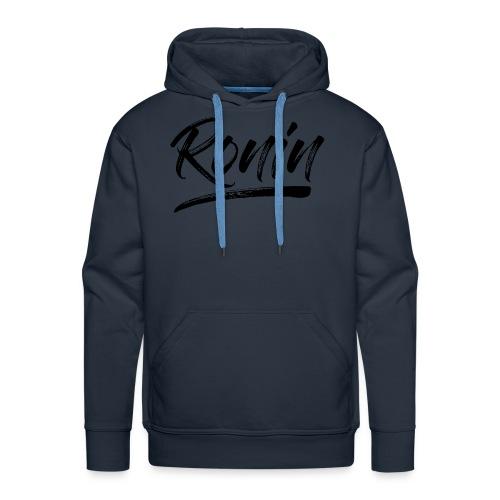 RONIN N - Sweat-shirt à capuche Premium pour hommes