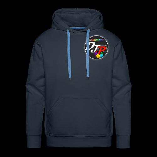 DjPolystation Logo - Felpa con cappuccio premium da uomo