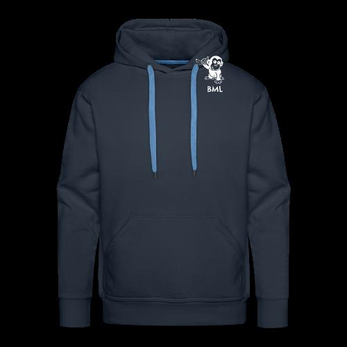 BestMonkeyLearning Logo - Men's Premium Hoodie
