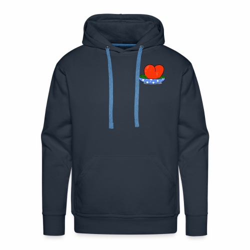Peas and love - Men's Premium Hoodie