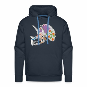 Day of the extinct: Triceratops - Men's Premium Hoodie
