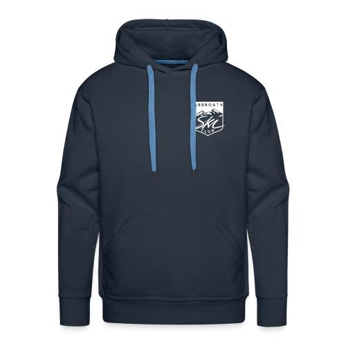 Arbroath Ski Club Logo White - Men's Premium Hoodie