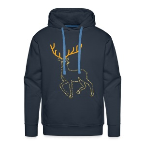 Reindeer print clothes | Gift for Christmas | Jul - Herre Premium hættetrøje