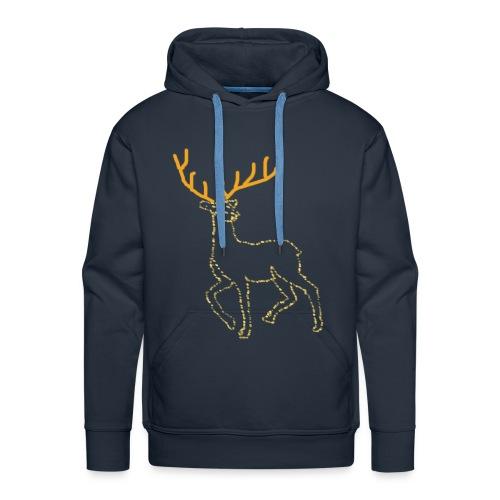 Reindeer print clothes   Gift for Christmas   Jul - Herre Premium hættetrøje