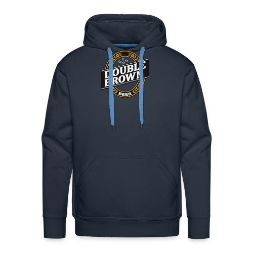 double brown beer - Men's Premium Hoodie