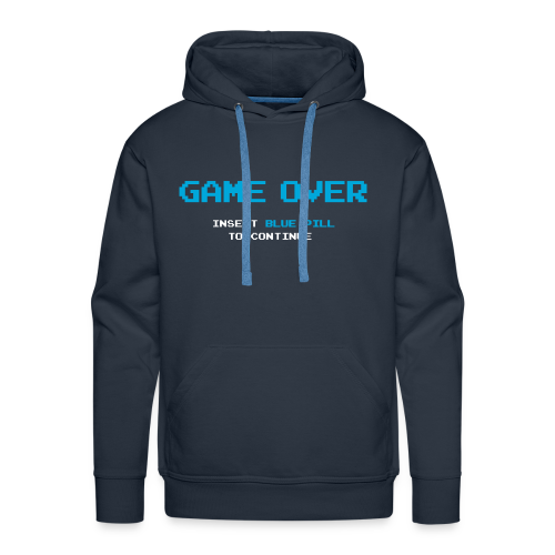 Game Over - Sudadera con capucha premium para hombre