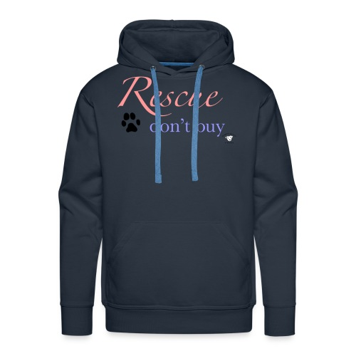 Rescue don't buy - Men's Premium Hoodie