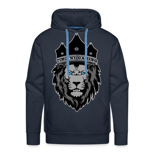 Timothy99NL, Witte Iijn Om Het Logo - Mannen Premium hoodie