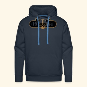 BDMCC 1974 Long Dog - Men's Premium Hoodie