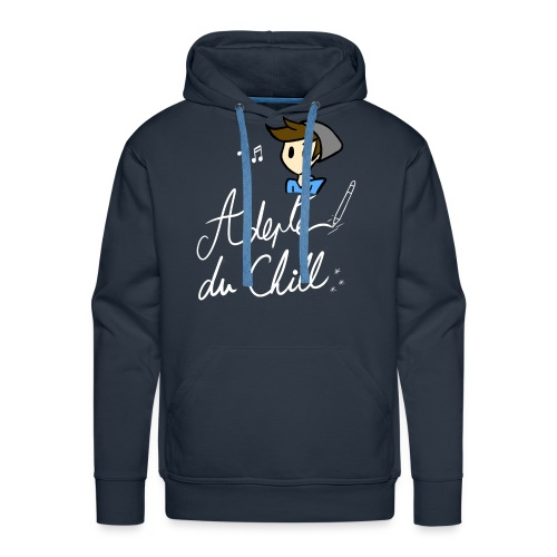 Adepte du Chill - Sweat-shirt à capuche Premium pour hommes