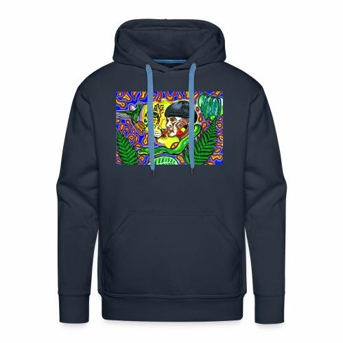 Regenwaldmotiv mit Indio - Männer Premium Hoodie