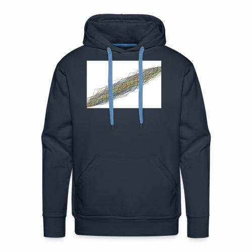 Line Chart - Mannen Premium hoodie