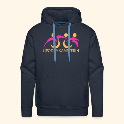 Logo Triathlon Geld - Männer Premium Hoodie