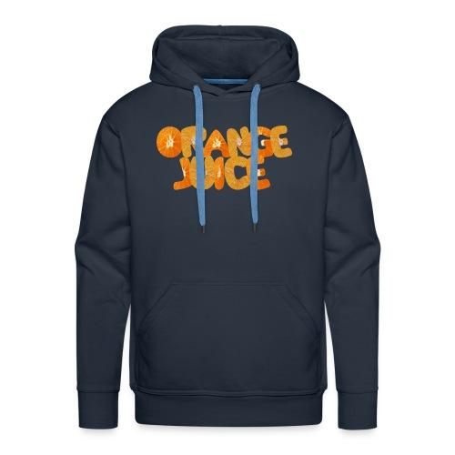 Orangene Orange - Männer Premium Hoodie