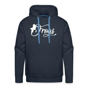 frogo - Sweat-shirt à capuche Premium pour hommes